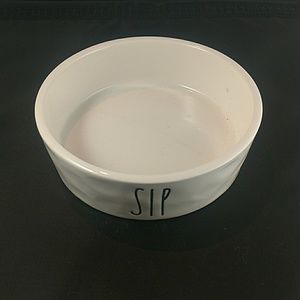 Other - Rae Dunn Small Pet Bowl Sip